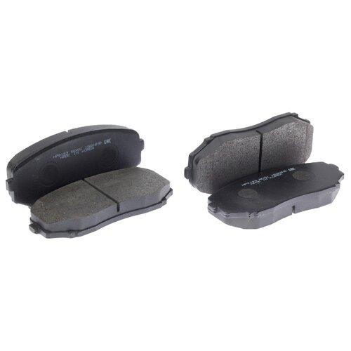 Фото - Дисковые тормозные колодки передние HONG SUNG BRAKE HP9193 для Mazda CX-7, Mazda CX-9 (4 шт.) дисковые тормозные колодки передние ferodo fdb4446 для mazda 3 mazda cx 3 4 шт