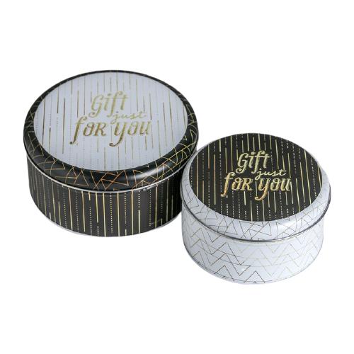 Фото - Набор подарочных коробок Дарите счастье Gift just for you 2 шт. белый/черный набор подарочных коробок дарите счастье универсальный 10 шт бежевый белый черный