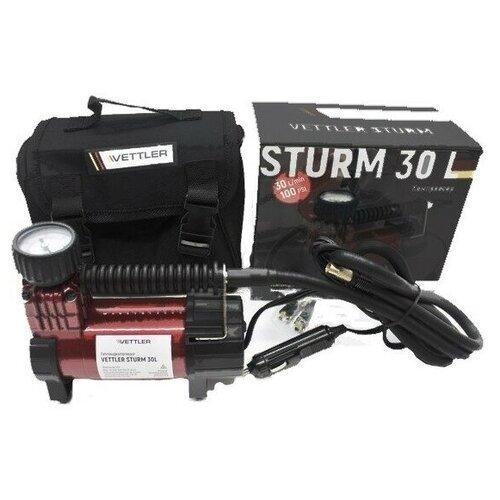 Компрессор подкачки шин Vettler STURM30L (30 л/мин., 7 АТМ.)