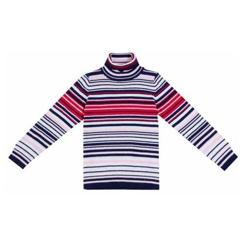 Купить Свитер playToday размер 116, белый/красный/темно-синий, Свитеры и кардиганы