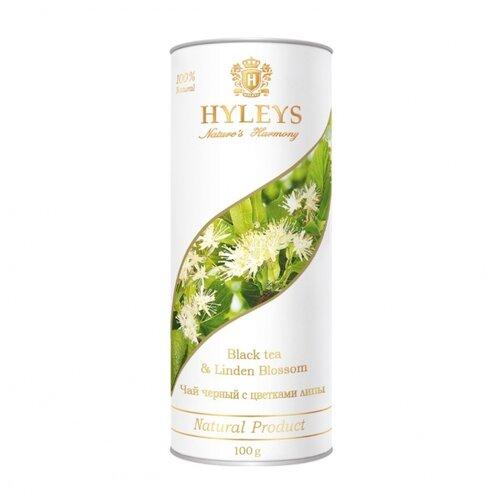Чай Черный Hyleys Гармония Природы с цветками липы, 100 г