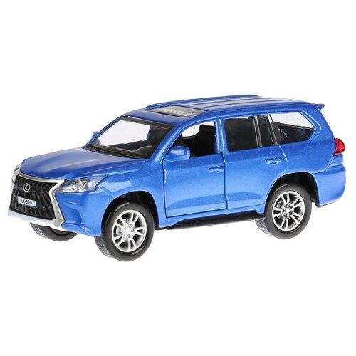 Купить Внедорожник ТЕХНОПАРК Lexus LX-570 (LX570-BU-SL) 12 см синий, Машинки и техника
