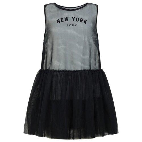 Платье Lapin House размер 140, черный