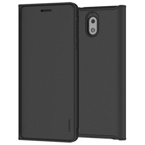 Чехол-книжка Nokia CP-306 для Nokia 3.1 black чехол для сотового телефона interstep armore для nokia 3 black harno00003knp1101ok100