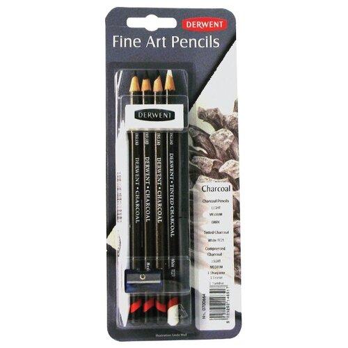 Derwent Набор угольных карандашей Charcoal 9 предметов (0700664)