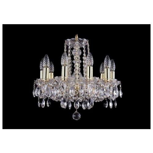 Люстра Bohemia Ivele Crystal 1402 1402/10/141/G, 400 Вт bohemia ivele crystal 1402 1402 16 400 g 640 вт
