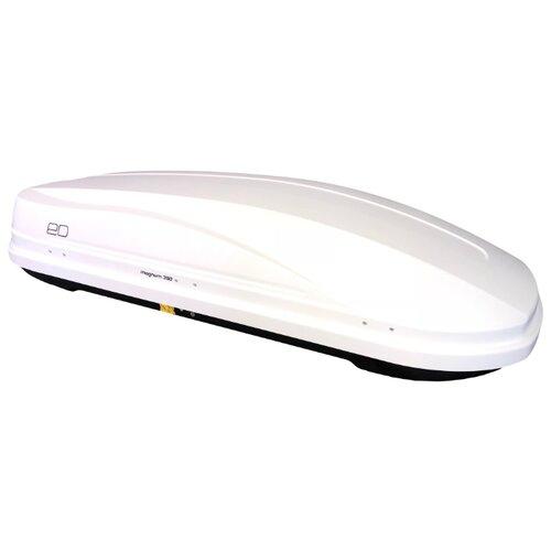 Багажный бокс на крышу Евродеталь Магнум 390 (390 л) белый глянец