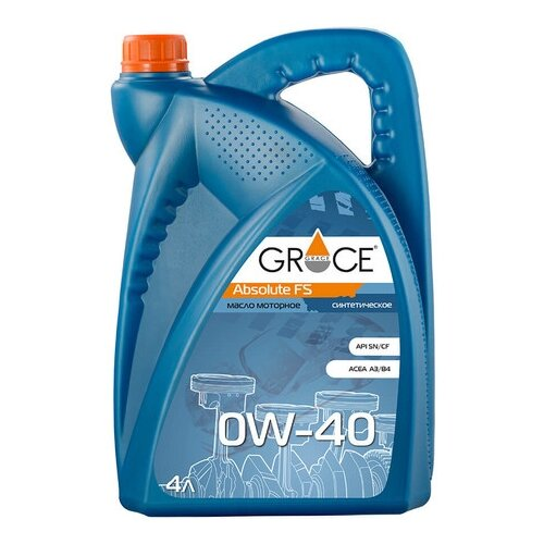 Моторное масло Grace Lubricants Absolute FS 0W-40 4 л