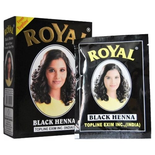 Купить Royal Хна для бровей, 10 г black 7 шт.