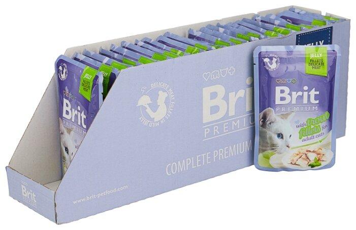 Корм для кошек Brit Premium беззерновой,