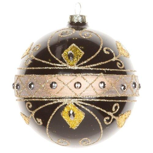 Набор шаров KARLSBACH 06847, черный/золотой