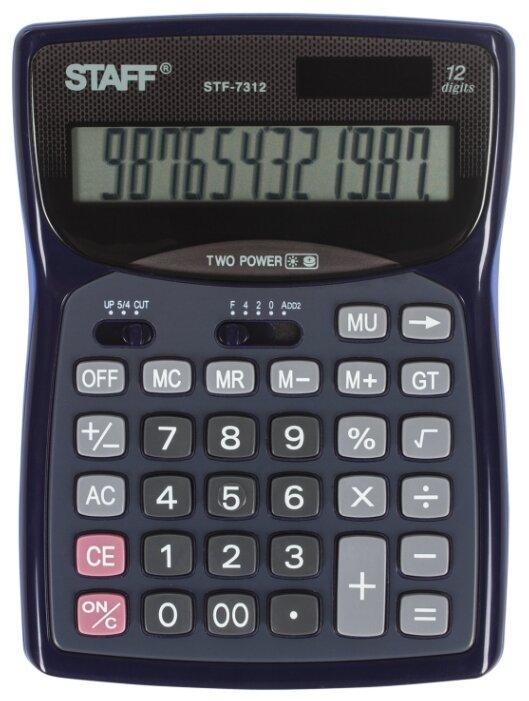 Калькулятор бухгалтерский STAFF STF-7312