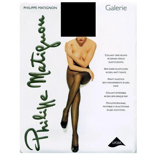 Колготки Philippe Matignon Galerie 40 den nero 4-L (Philippe Matignon)Колготки и чулки<br>