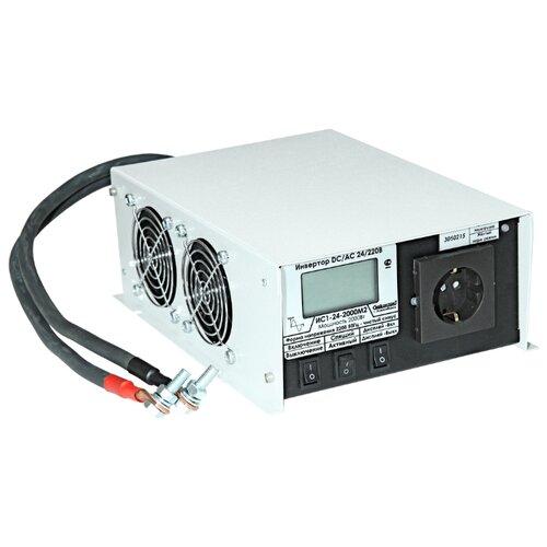 Инвертор СибКонтакт ИС1-24-2000 DC-AC серый
