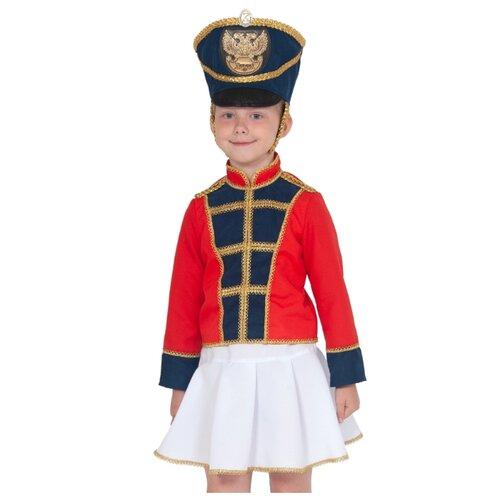 Купить Костюм КарнавалOFF Мажоретка (5311), красный/синий, размер 128-134, Карнавальные костюмы