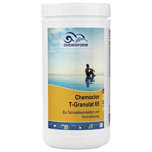 Гранулы для бассейна Chemoform Кемохлор Т-65 гранулированный 1 кг
