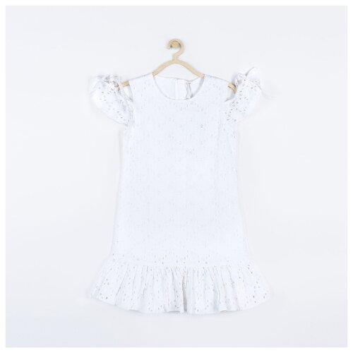 Платье COCCODRILLO размер 128, белый