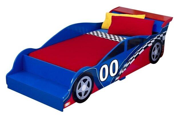 Кровать детская KidKraft Гоночная машина (без белья)