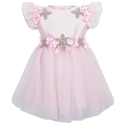 Платье Lesy размер 98, розовый