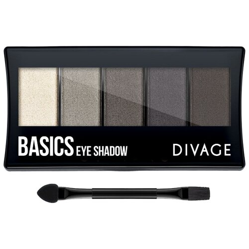 DIVAGE Палетка теней Palettes Eye Shadow basics палетка теней для бровей еyebrow shadow