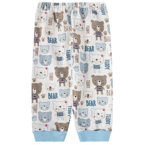 штанишки для мальчика веселый малыш one цвет голубой 33150 one c 1 размер 68 Брюки Веселый Малыш 33320/мт размер 68, голубой/набивка