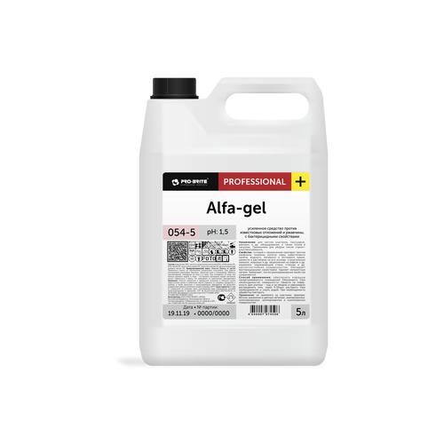 Pro-Brite гель от ржавчины и известковых отложений Alfa-gel 5 л ecover спрей для удаления известковых отложений 0 5 л