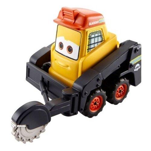 Машинка Mattel Blackout (CBK59/BDB92), желтый/черный mattel машинка cars пол лошсил меняет цвет