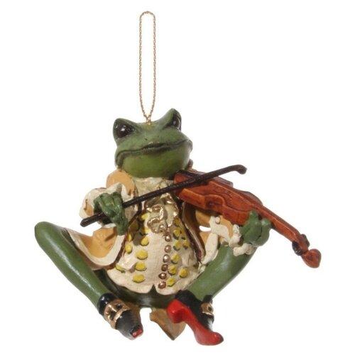 Елочная игрушка SHISHI 46359, зеленый/бежевый
