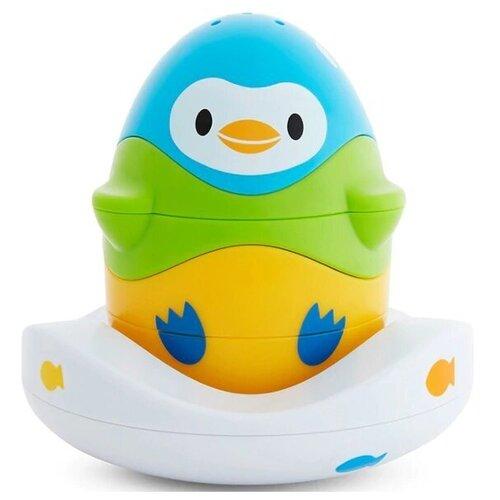 Купить Игрушка для ванной Munchkin Stack n Match (51706) белый/желтый/зеленый/голубой, Игрушки для ванной
