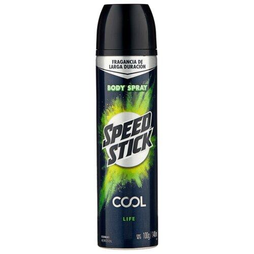 Дезодорант-антиперспирант спрей Mennen Speed Stick Cool Жизнь, 140 мл антиперспирант lady speed stick невидимая защита 45 гр