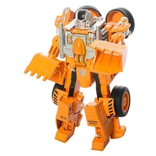 Купить Трансформер Shantou Gepai Justice Hero SY6078B-2 оранжево-серый, Роботы и трансформеры