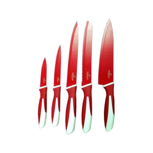 Набор Bohmann 5 ножей BH-5218 красный набор bohmann bh 7838