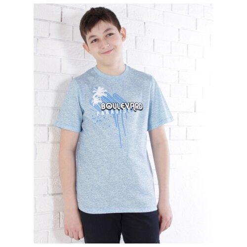 Купить Футболка Jewel Style размер 158, голубой, Футболки и майки