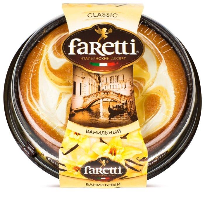 Торт Faretti ванильный