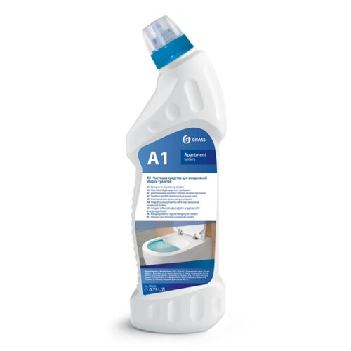 GraSS средство для ежедневной уборки туалетов Apartament series А1 0.75 л