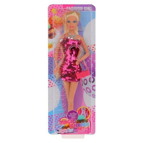 Купить Кукла Defa Lucy, 29 см, 8435 в розовом, Куклы и пупсы