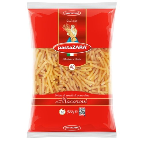 Pasta Zara Макароны 040 Macaroni, 500 г