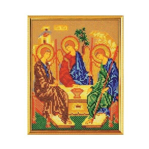 Кроше Набор для вышивания бисером Святая Троица 19 х 24 см (В-167)