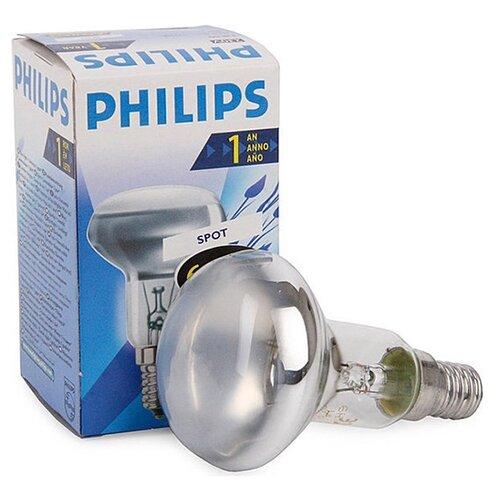 цена на Лампа накаливания Philips Spot 2700K, E14, NR50, 40Вт