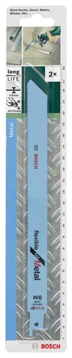 Пильное полотно для сабельной пилы BOSCH S1122BF