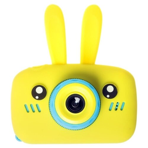 Фотоаппарат GSMIN Fun Camera Rabbit со встроенной памятью и играми желтый