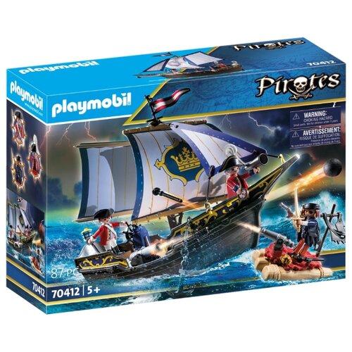 Купить Набор с элементами конструктора Playmobil Pirates 70412 Парусник, Конструкторы