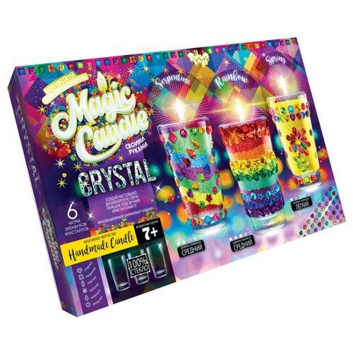 Купить Danko Toys Набор для создания свечей Magic Candle Crystal с кристаллами, Изготовление свечей