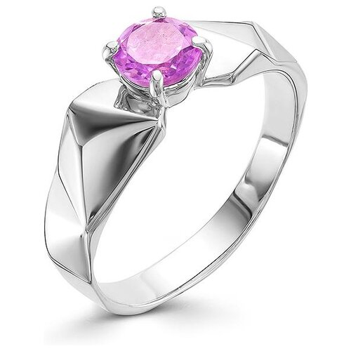 АЛЬКОР Кольцо с 1 аметистом из серебра 01-0559-00АМ-00, размер 17 алькор кольцо с 1 аметистом из серебра 01 0578 00ам 00 размер 17 5
