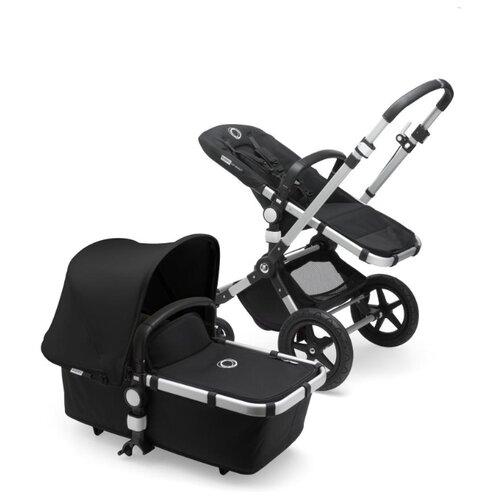 Универсальная коляска Bugaboo Cameleon3 Plus (2 в 1) Alu/Black/Black, цвет шасси: серебристый