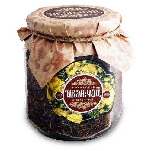 Чай травяной Сибирский Иван-чай с облепихой, 100 г чай травяной вятский иван чай с чабрецом 100 г