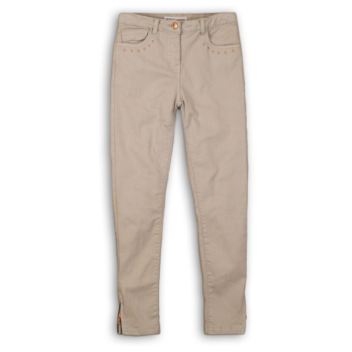 Брюки Minoti Peachy 8 размер 6-7л, бежевый брюки minoti размер 6 7л темно зеленый
