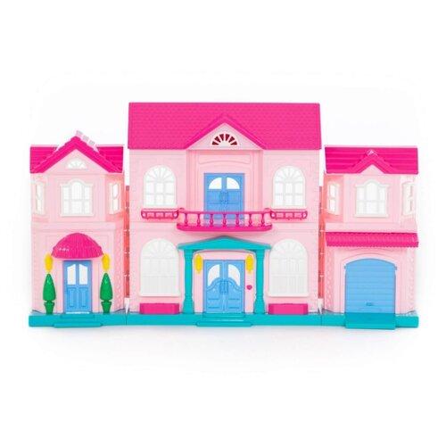 Фото - Полесье кукольный домик София 78193, розовый полесье набор игрушек для песочницы 468 цвет в ассортименте