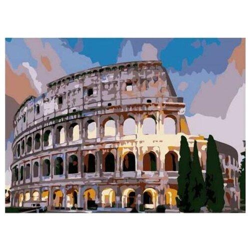 Купить Рыжий кот Картина по номерам Колизей 22х30 см ( HS140), Картины по номерам и контурам