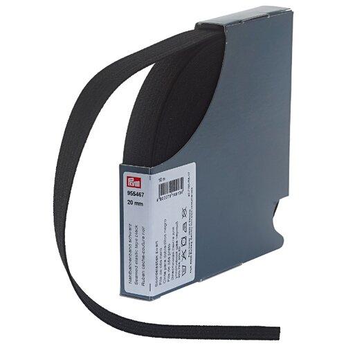 Купить Prym Эластичная лента для уплотнения шва 955467, черный 2 см х 10 м, Технические ленты и тесьма